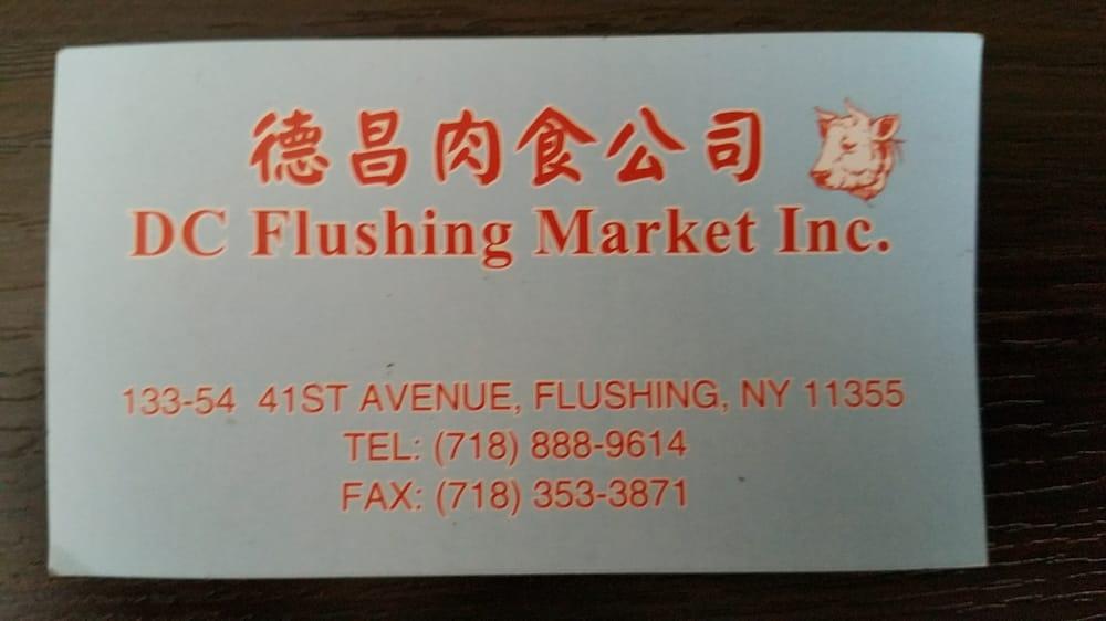 Business card yelp photo of dc flushing market flushing ny united states business card reheart Images