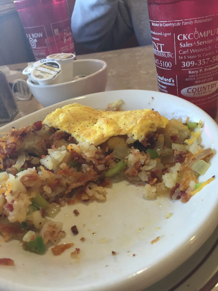 Country Side Family Diner: 928 S Main St, Lewistown, IL