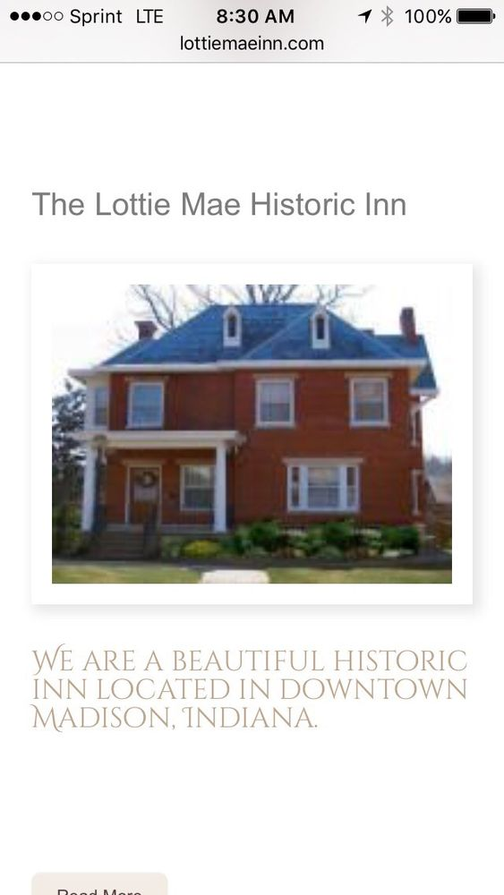 Lottie Mae Historic Inn: 411 West 1st St, Madison, IN