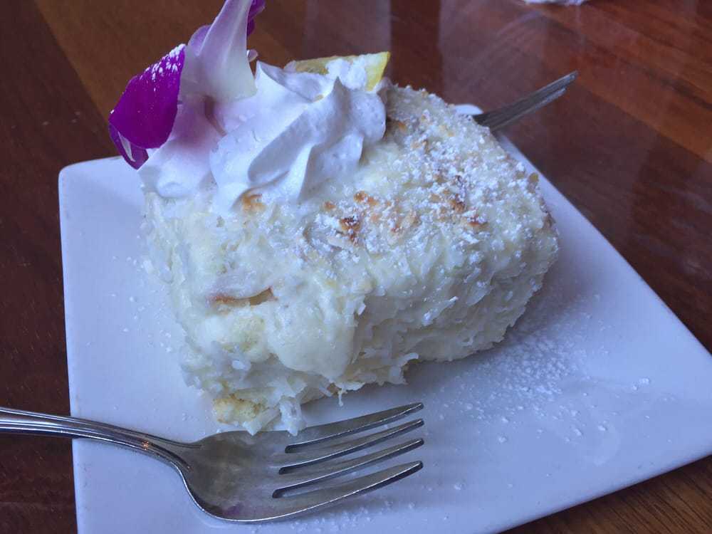Coconut Lemon Cake Yelp
