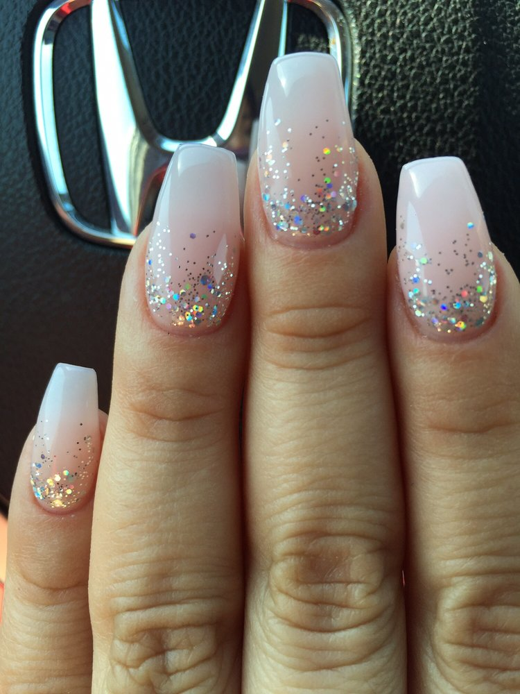 Nails by Ashley, the baby pink is OPI \'Bubble Bath\' - Yelp