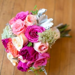 photo of lotus designs florist boston ma united states brides bouquet