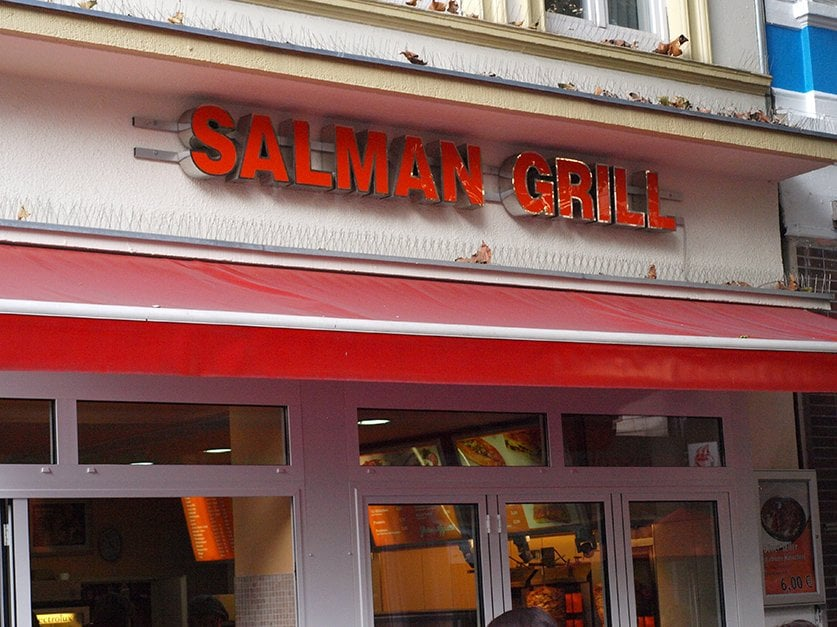 salman grill closed kebab ottenser hauptstr 24 ottensen hamburg germany restaurant. Black Bedroom Furniture Sets. Home Design Ideas