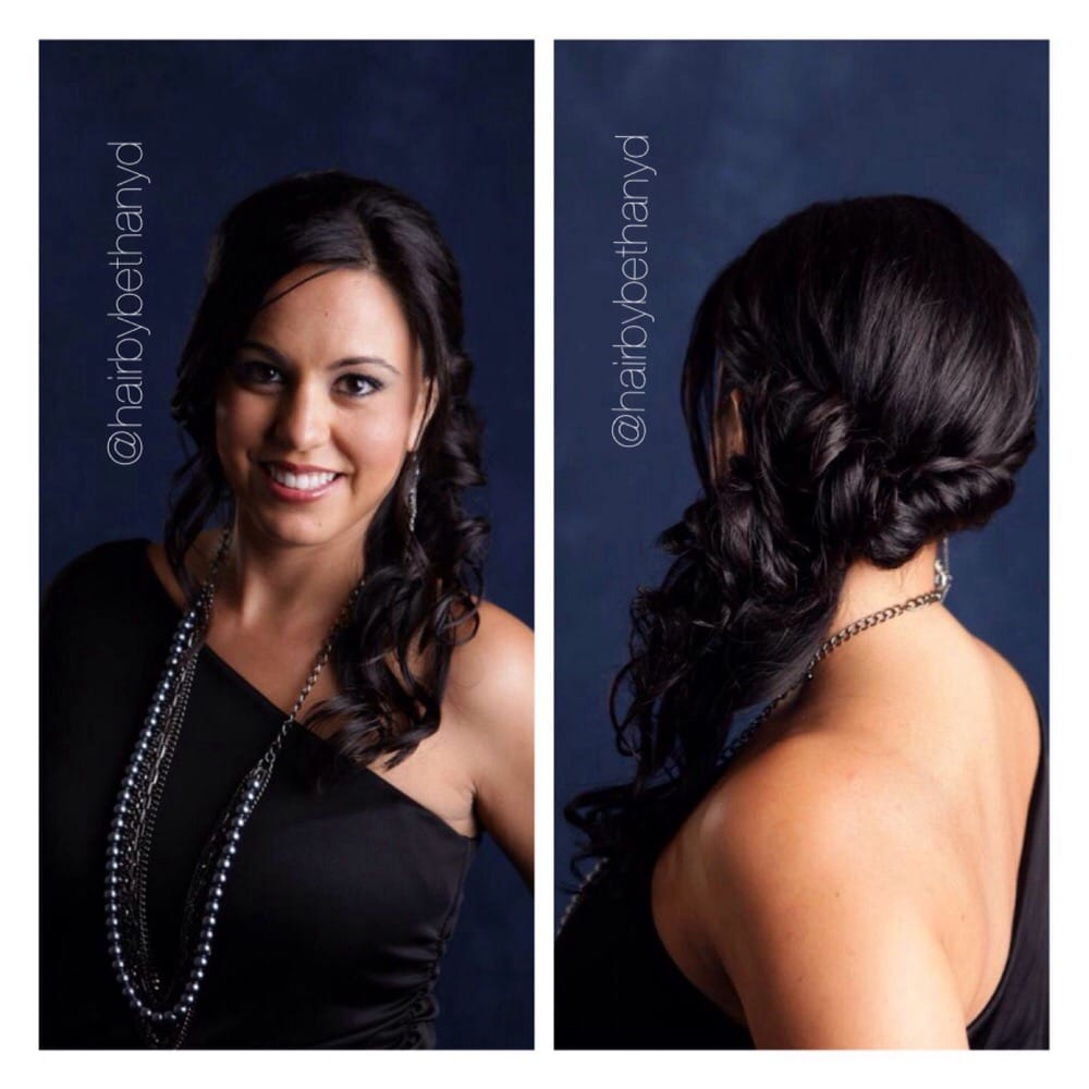 Salon photo shoot hair by bethany d owner of divine for K divine hair salon