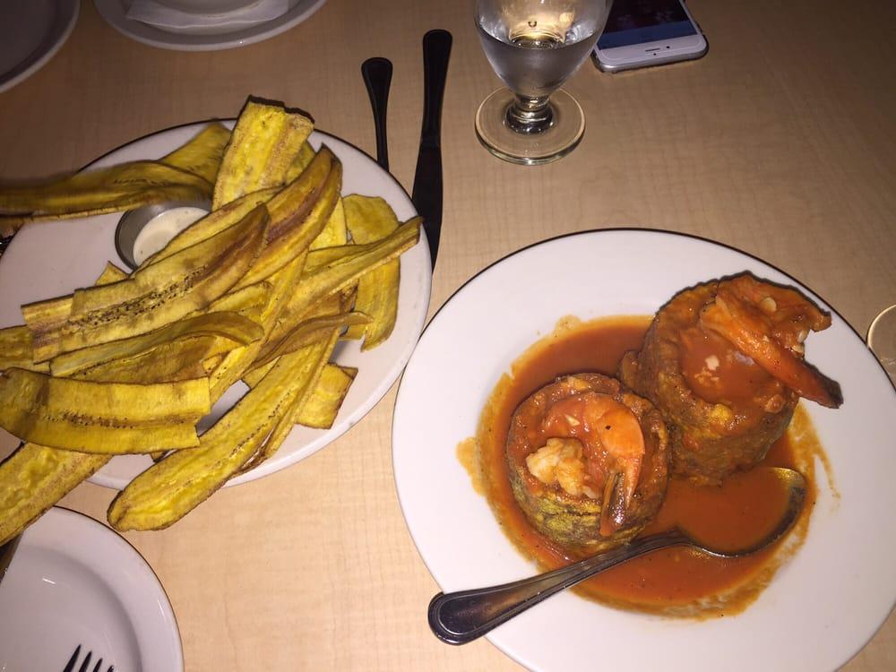 Mambo Tea House Shrimp Mofongo With Mariquitas Yelp