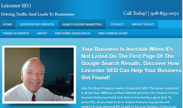 Leicester SEO - Advertising - 18B King Ct, Leicester, MA - Phone