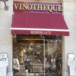 La Vinothèque de Bordeaux - Beer, Wine & Spirits - Hôtel de Ville ...
