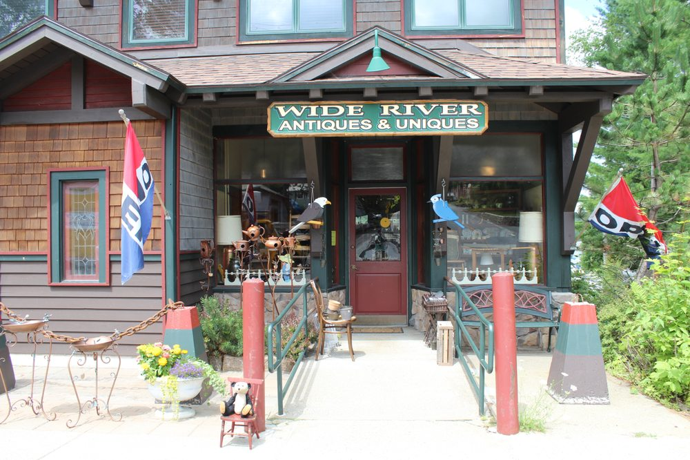 Wide River Antiques: 1128 Main Street State Route 30, Long Lake, NY