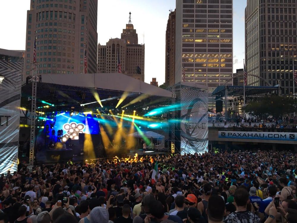 Movement Detroit Electronic Music Festival