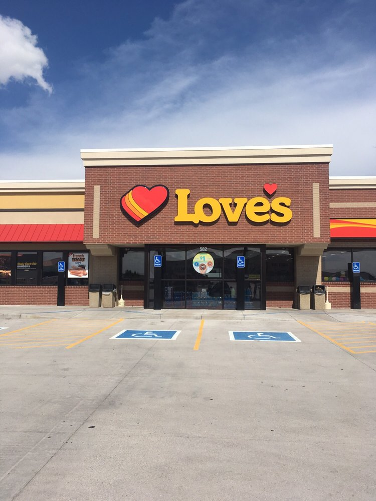 Love's Travel Stop: 582 S Lincoln St, Burlington, CO