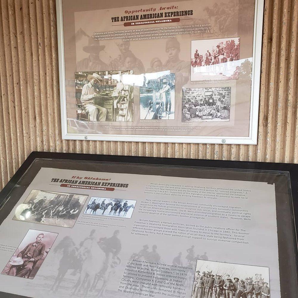 The Oklahoma Territorial Museum: 406 E Oklahoma Ave, Guthrie, OK