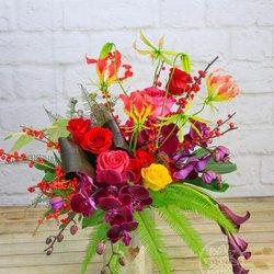 Photo of Dream Flowers - San Leandro, CA, United States. Vibrant colors arrangement