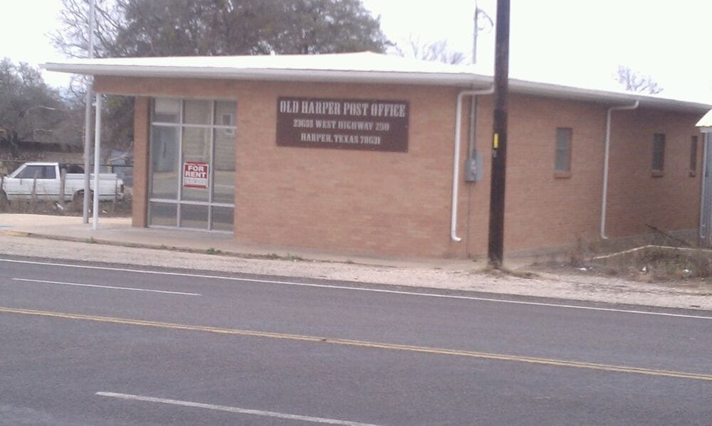United States Post Office: 23557 W US Hwy 290, Harper, TX