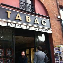 Le Wilson Bureaux de tabac 20 Place Du Prsident Thomas Wilson