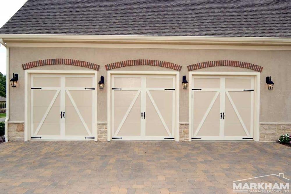 Haas american traditions wood grain insulated steel garage door yelp solutioingenieria Gallery