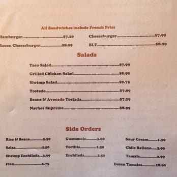 Photo Of Nacho S Restaurant Alturas Ca United States