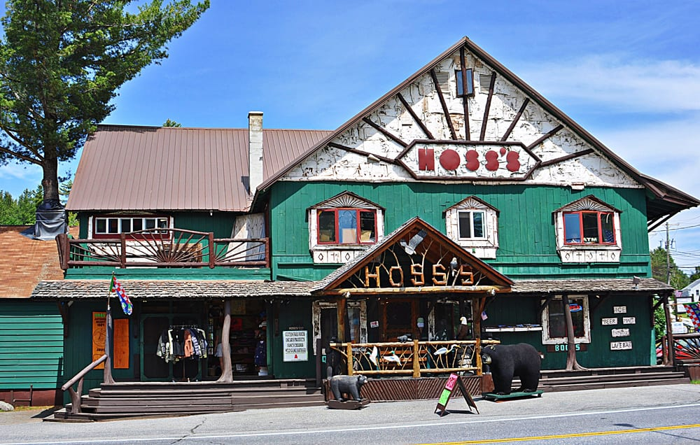 Hoss's Country Corner: 1142 Main St, Long Lake, NY