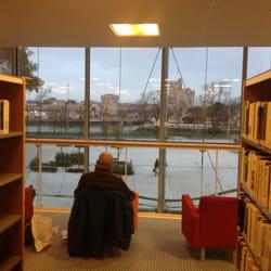 Bibliothèque Michel Crépeau - La Rochelle, Charente-Maritime, France