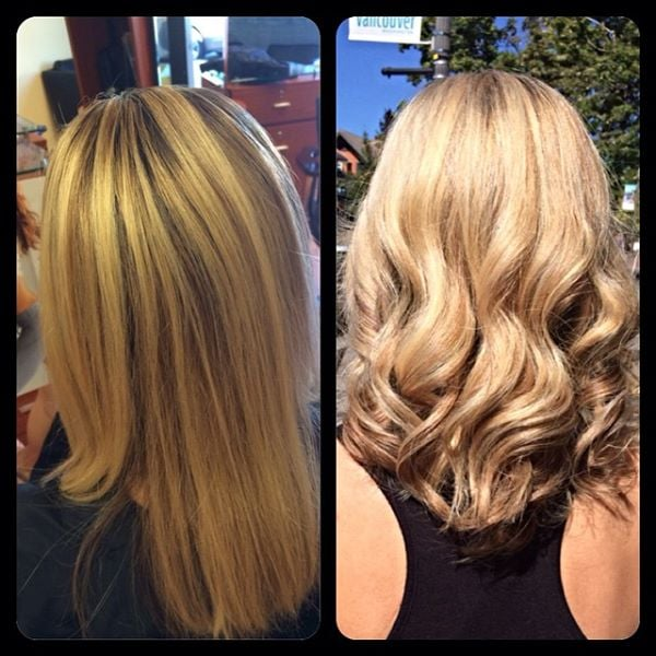 Olaplex treatment color style by charlene bancel halo for Halo salon vancouver