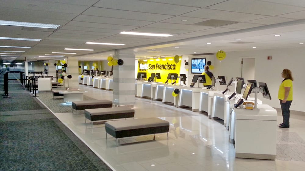 hertz rental car san francisco international airport