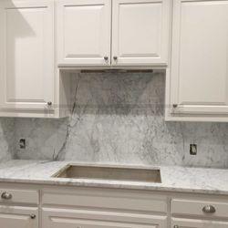Photo Of Stonemode Granite   Dallas, TX, United States. Carrera Marble  Countertops