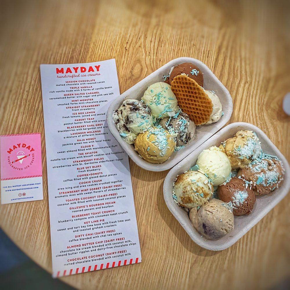 Mayday Handcrafted Ice Cream: 640 E Main St, Lakeland, FL