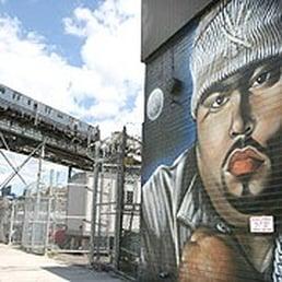 Photos for big pun memorial mural yelp for Big pun mural bronx