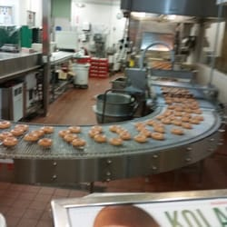 """1 Reviews of Krispy Kreme Donuts in Austin, TX specialazing in Bakeries - """" Krisypy Kreme donuts have a variety of donuts. Most of them are too sweet for me. But when the Krispy Kreme neon light is up outside the store, its a must to get in and ask for a free hot original glaze donut sample.1/5(1)."""