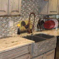 Photo Of Performance Stoneworks Indianapolis In United States Golden Dunes Granite Kitchen