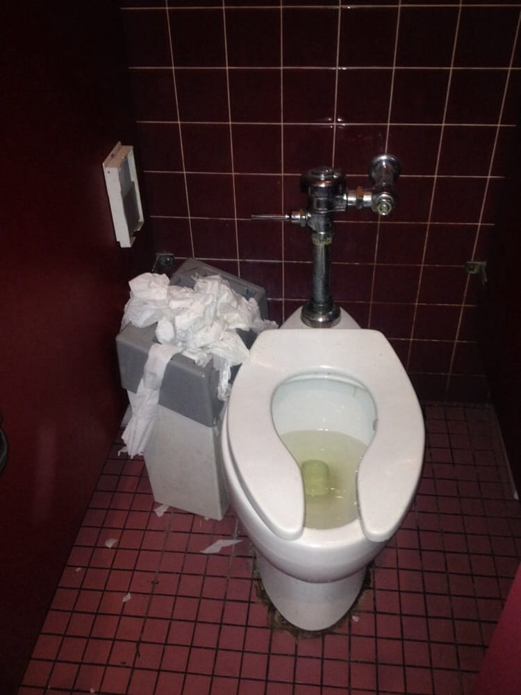 By Far The Dirtiest Restrooms I Have Ever Visited Can T