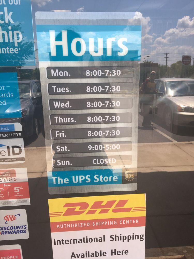 The UPS Store: 8665 Sudley Rd, Manassas, VA
