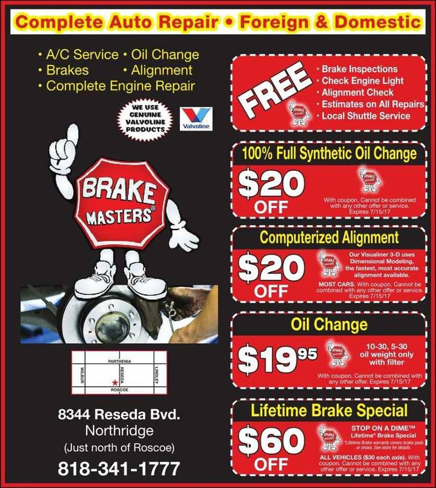 Brake Masters Coupons >> Coupons Yelp