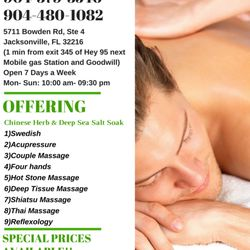 Full body massage jacksonville nc