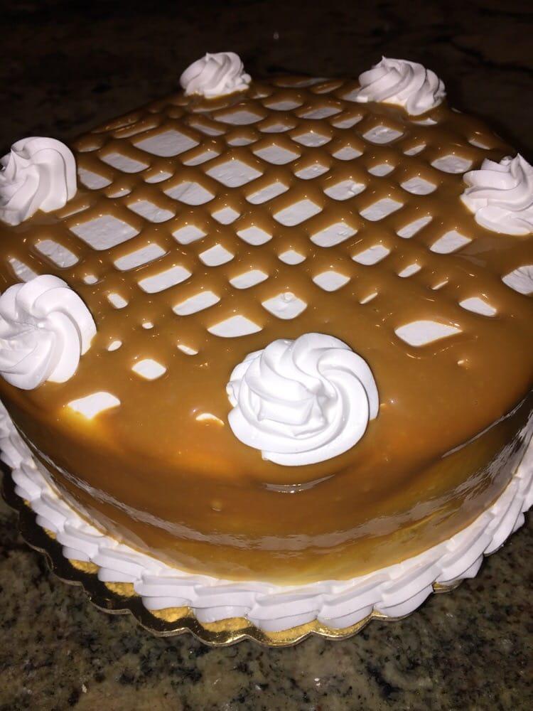 Caramel Tres Leches Cake From Harina Bakery In Maryland