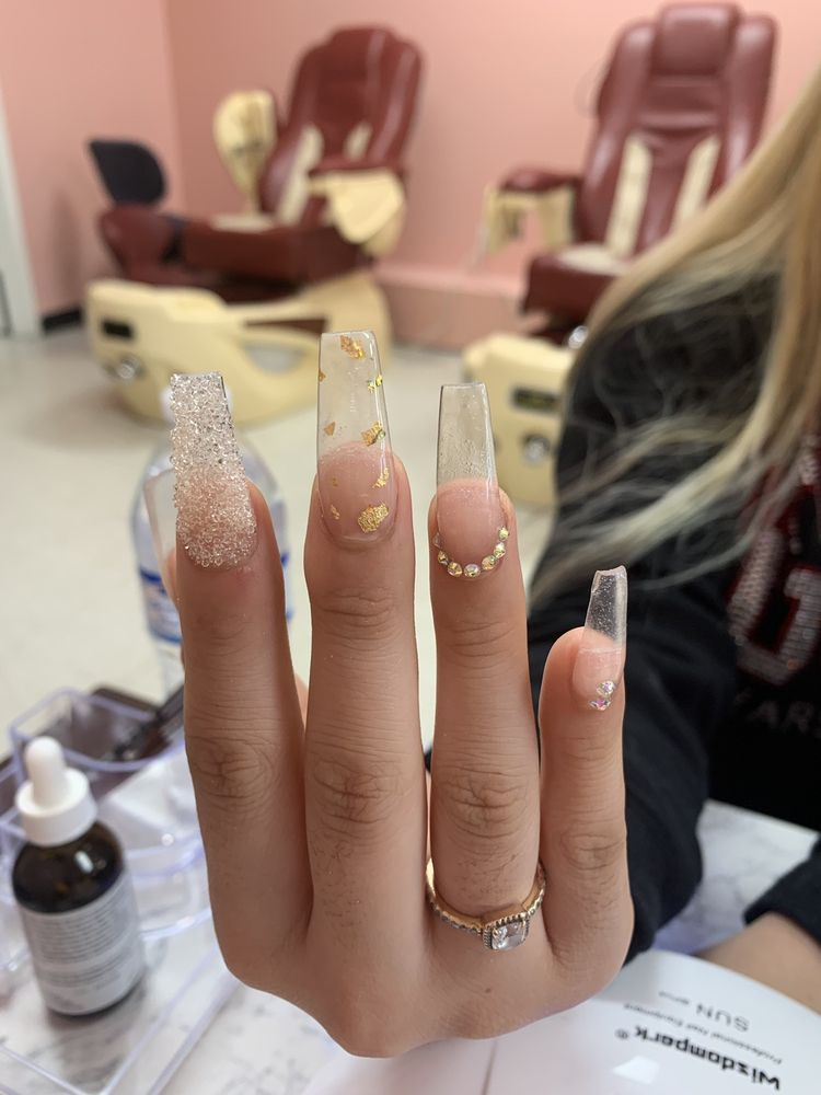Ombre Nails: 9903 S Highway6, Sugar Land, TX