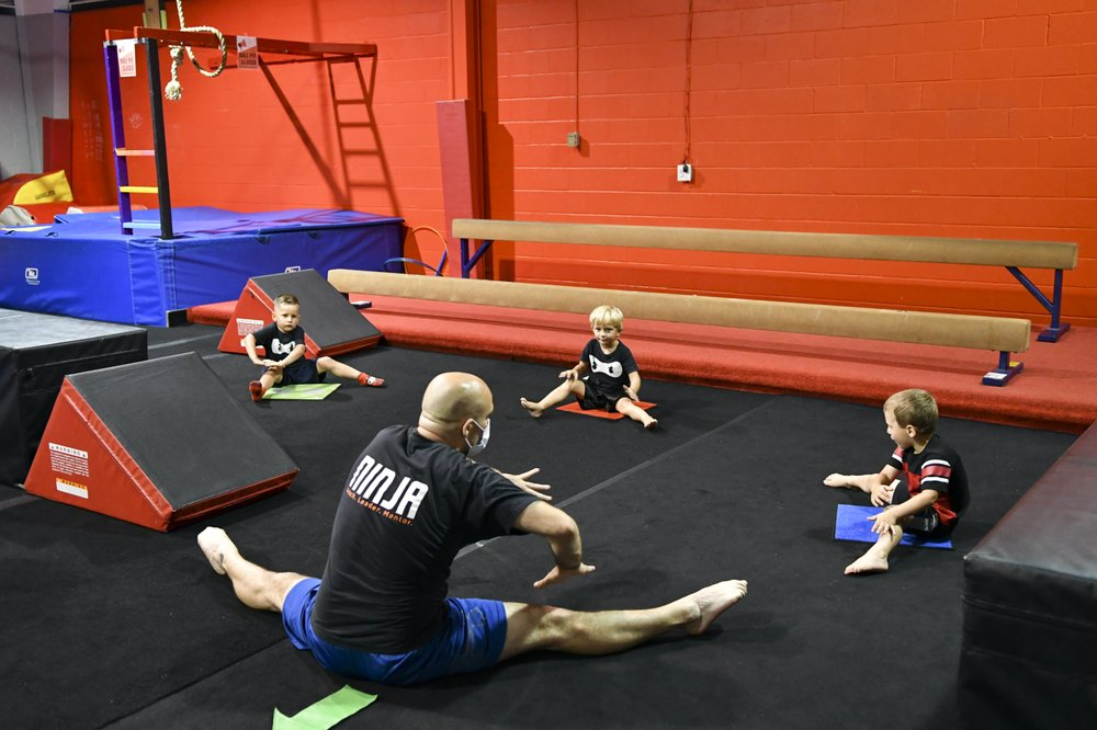 Wright's Gymnastics & NinjaZone - Center Grove: 1012 N Bluff Rd, Greenwood, IN