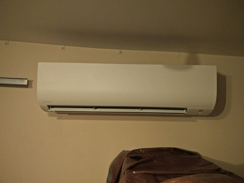 Ductless mini split system indoor unit  (Fan coil) - Yelp