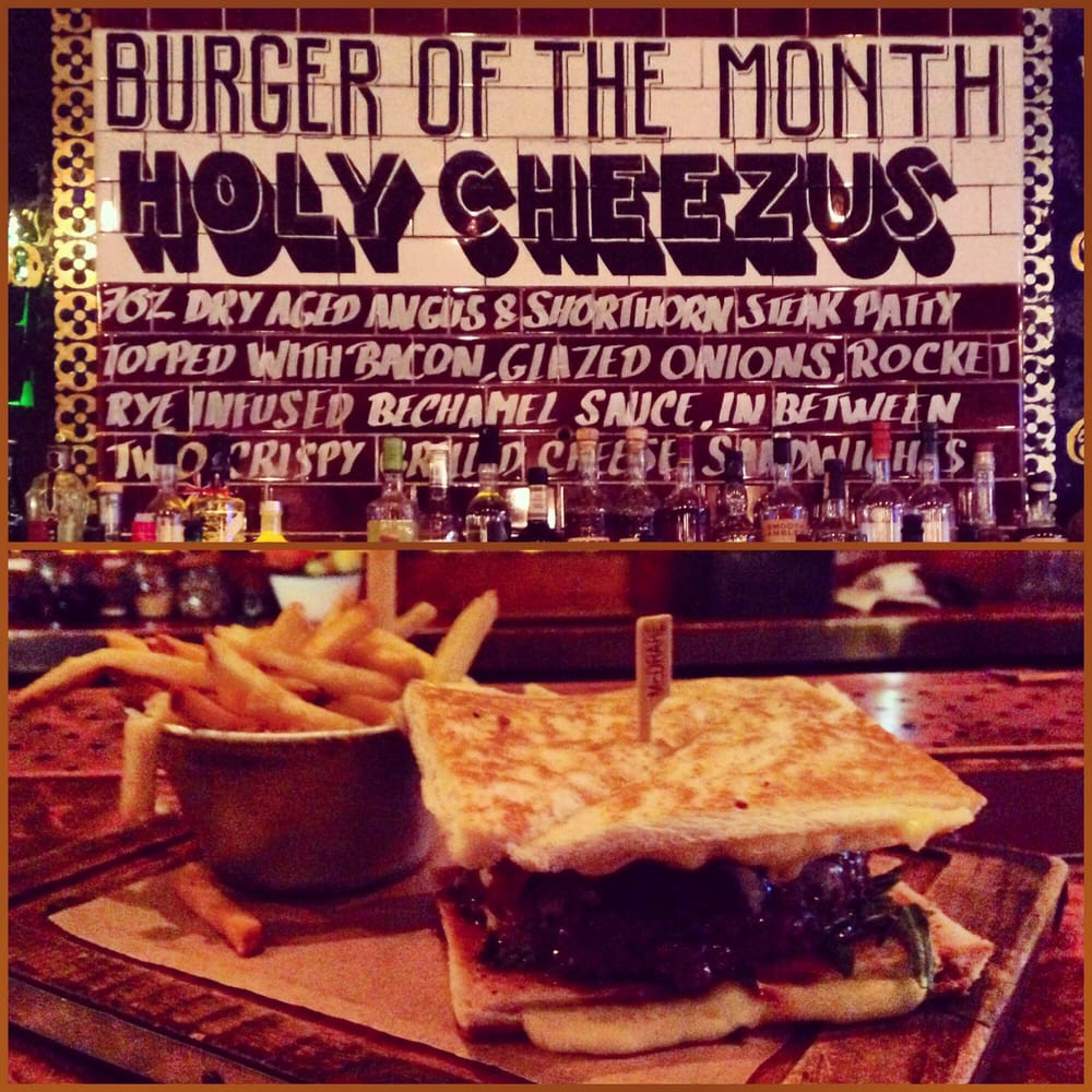 Burger Of The Month The Blues Kitchen