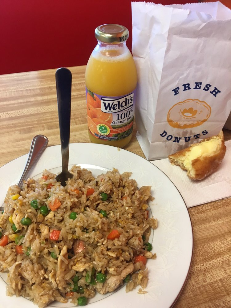 Altus Donuts and Fried Rice: 1215 E Broadway St, Altus, OK