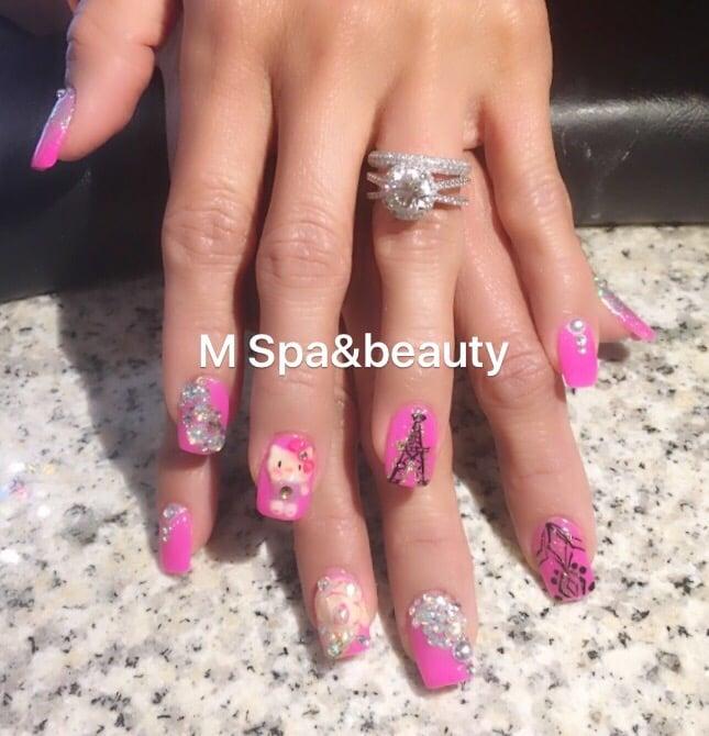 M Spa & Beauty Nails: 308 Coit Rd, Plano, TX