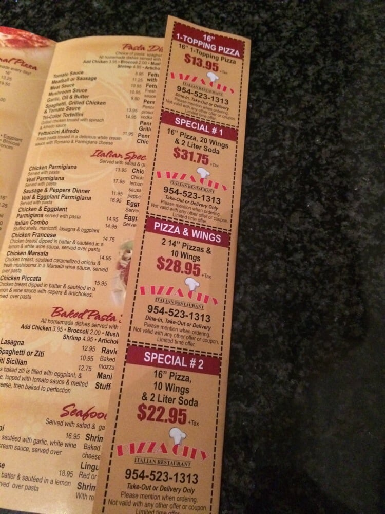 Pizza italia coupons