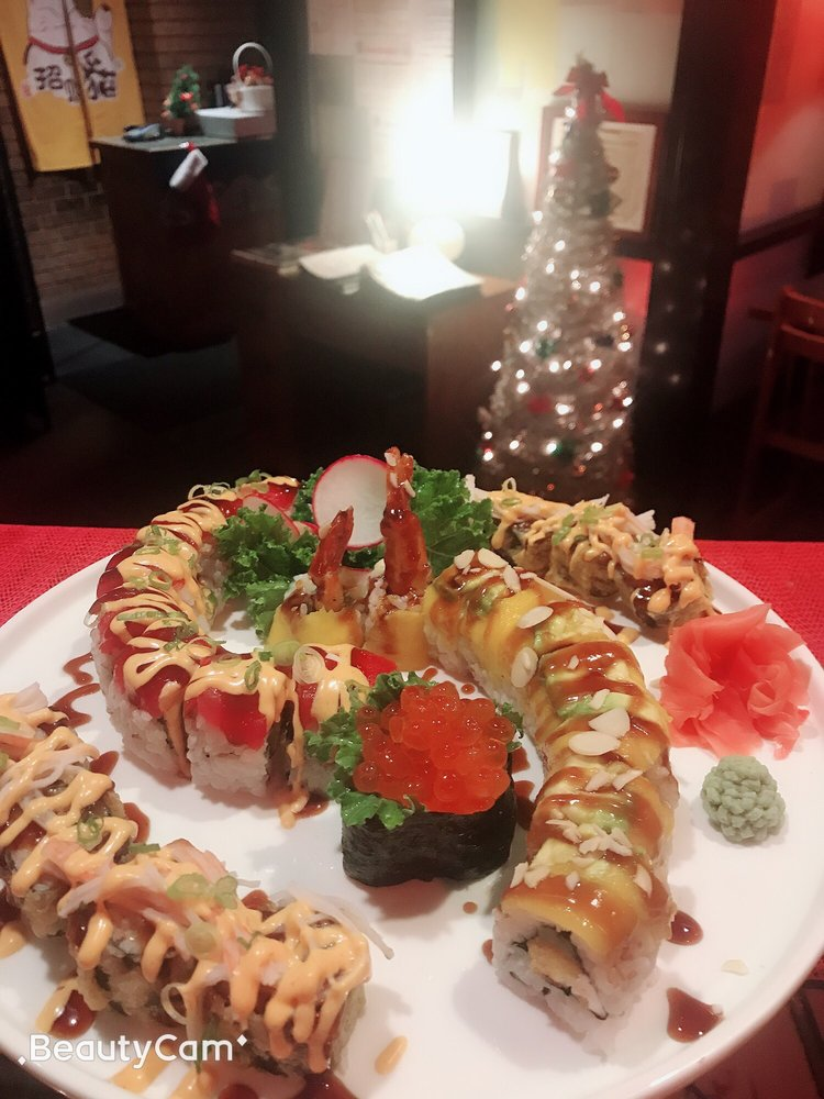 Food from Asian Grill