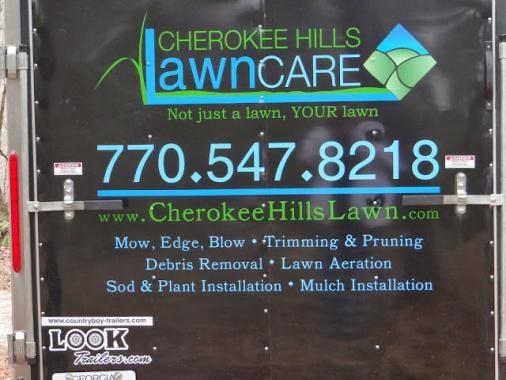 Cherokee Hills Lawn Care: Canton, GA