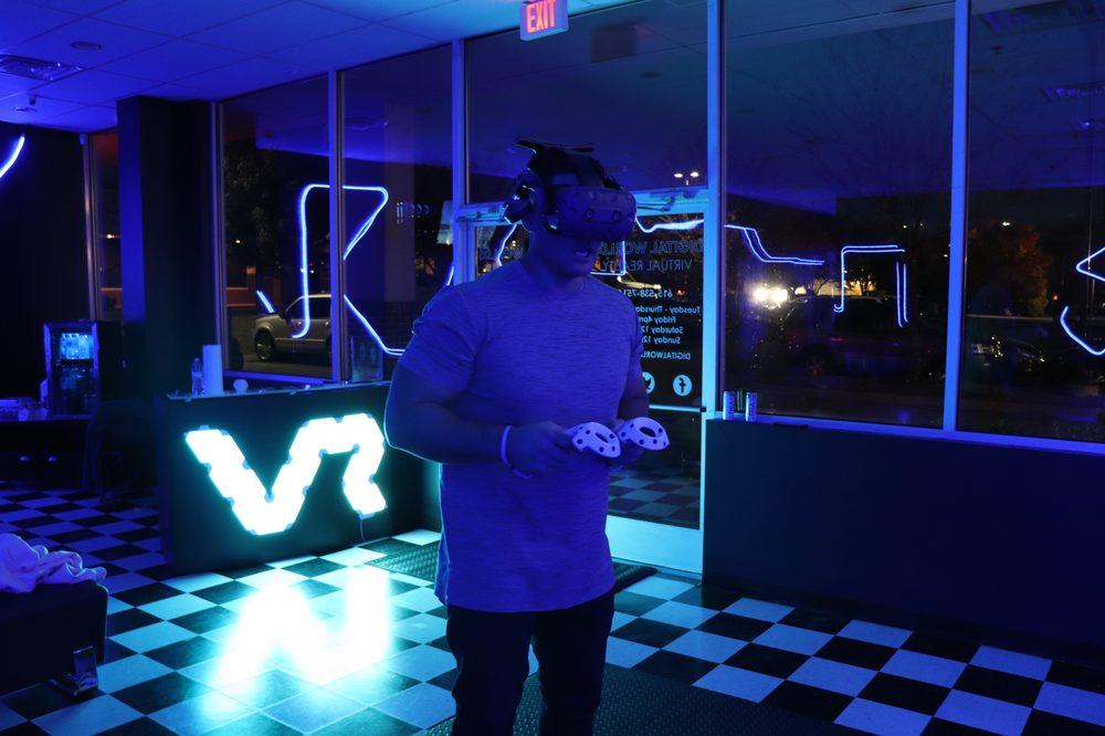 Digital Worlds VR