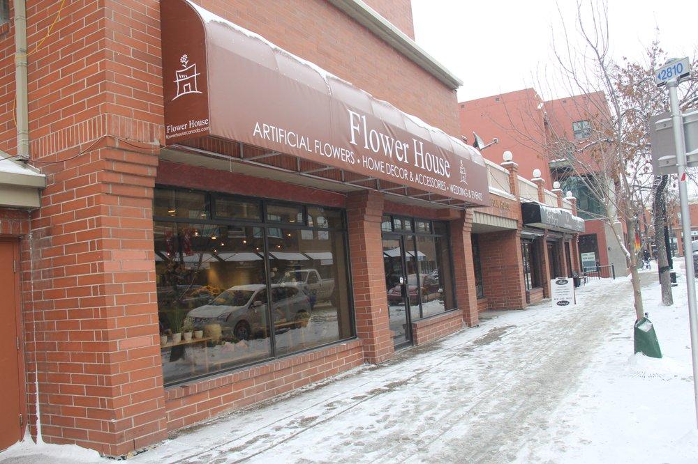 Flower House Home Decor 1120 Kensington Road NW Calgary AB Canada Ph