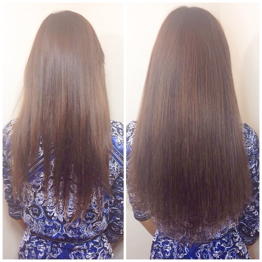 Nbr One Row Makes A Huge Difference To Repair Broken Hair Yelp