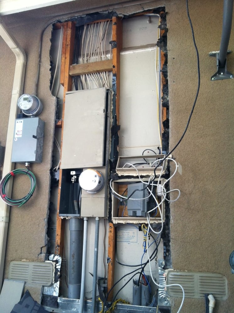 Main 200 AMP Electrical Service Panel to be upgrade to a 400 Amp ...