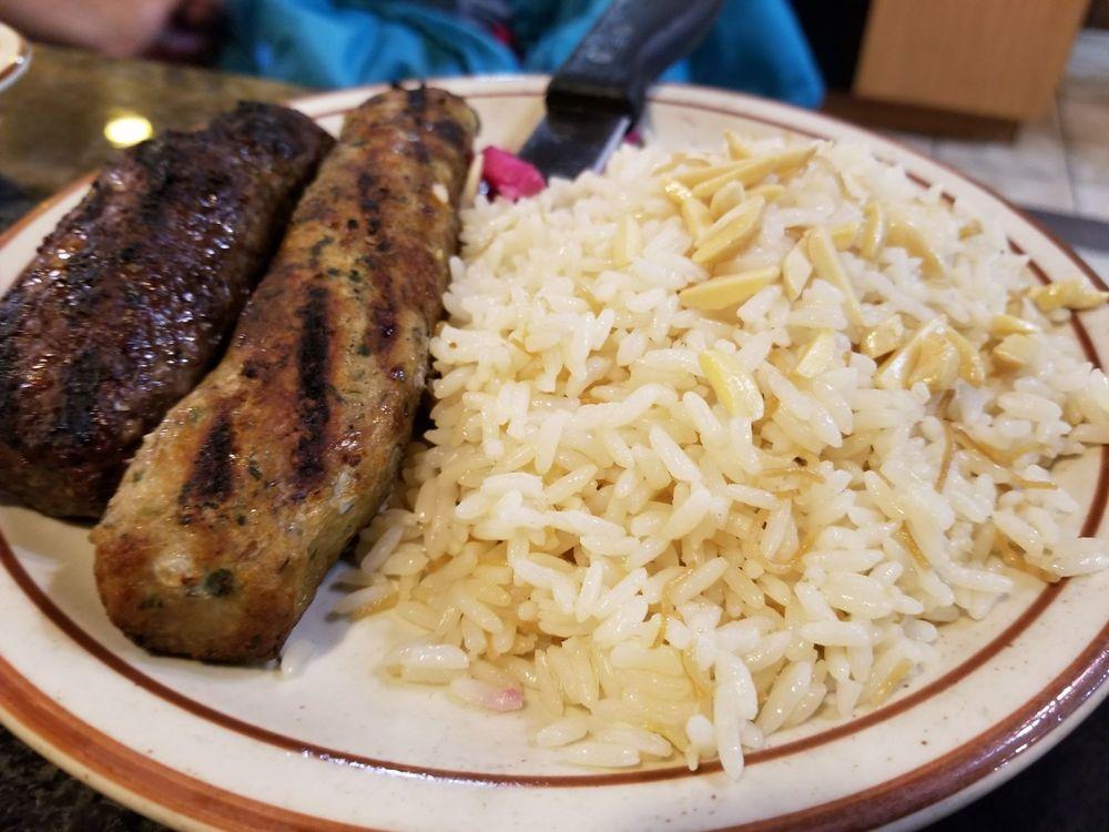 Food from Shish Palace