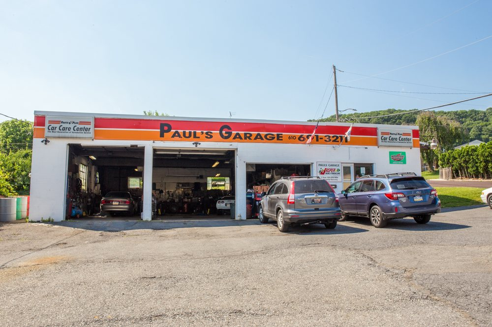 Paul's Garage: 1526 Broadway, Fountain Hill, PA