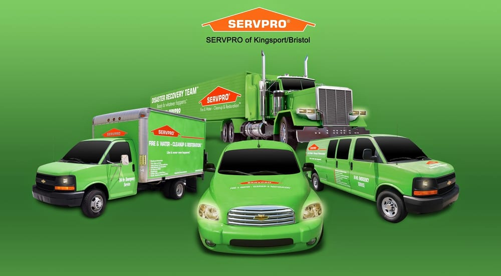 SERVPRO of Kingsport/Bristol: 5351 Fort Henry Dr, Kingsport, TN